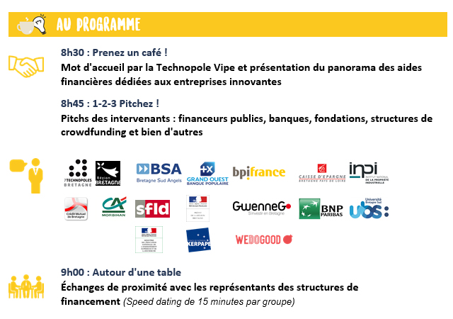 Café de l'innovation programme