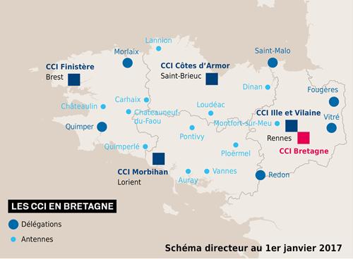 Chambre De Commerce Morbihan Of Une Future Carte Consulaire R Gionale Avec 4 Ccit