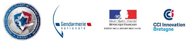Logos colloque cyber gendarme