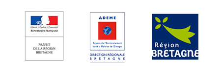 Logos Etat ADEME Bretagne Région