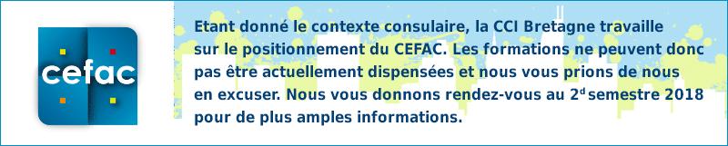 Message suspension du CEFAC