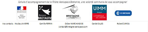 Cellule accompagnement filière aérospace bretonne