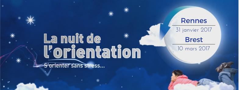 Nuit de l'orientation en Bretagne 2017