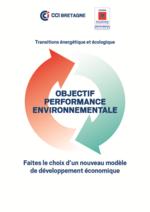 Plaquette de présentation de l'offre Objectif Performance Environementale