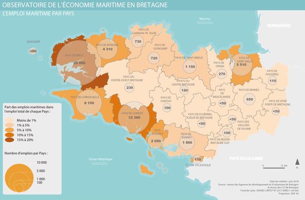 Carte Economie maritime