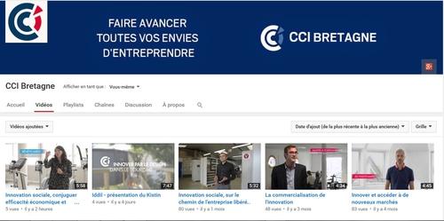 Chaîne vidéo CCI Bretagne