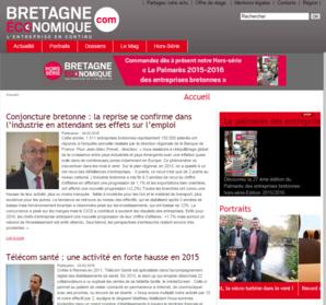 HP site web Bretagne écononique
