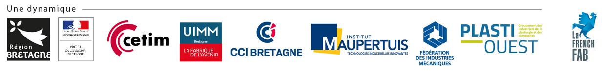 Logos partenaires Breizh Fab