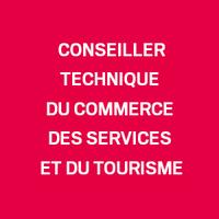 Conseiller technique du commerce, du tourisme et des services