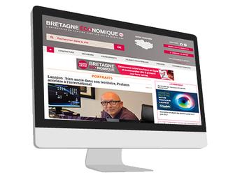 Visuel écran Bretagne économique