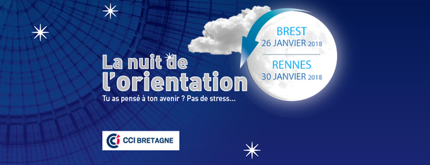 Nuits de l'orientation en Bretagne 2018
