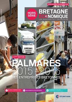 Visuel Une Palmarès des entreprises bretonnes 2015 2016