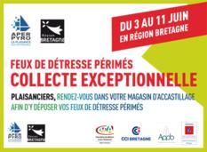 Affiche opération collecte feux périmés Bretagne juin 2017