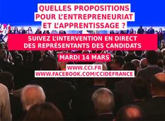 CCI France élections présidentielles