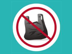 Logo fin des sacs plastiques