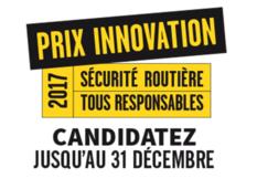Prix innovation sécurité routière 2017
