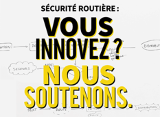 Prix innovation sécurité routière 2018