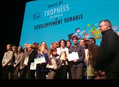 Remise des prix des Trophées bretons du développement durable 2017