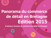 Visuel Une Panorama du commerce de détail en Bretagne 2015
