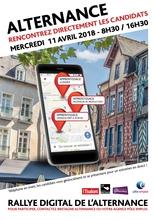 Rallye digital alternance 11 avril 2018