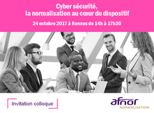 Colloque cyber sécurité Afnor