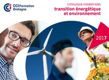 Formations transition énergétique et environnement 2017