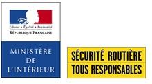 Logo Ministère Intérieur et Sécurité routière