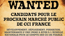 Marché public CCI France recherche candidats
