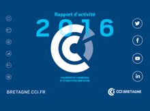 Rapport d'activité 2016 de la CCI Bretagne